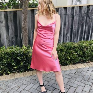 Rose Pink cocktail dress